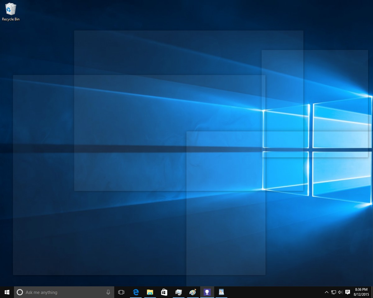 5 ways to hide the Windows screen