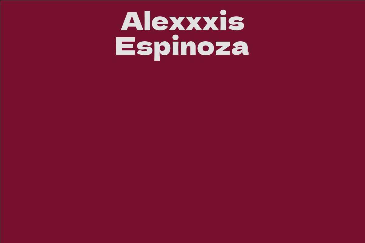 Alexxxis Espinoza