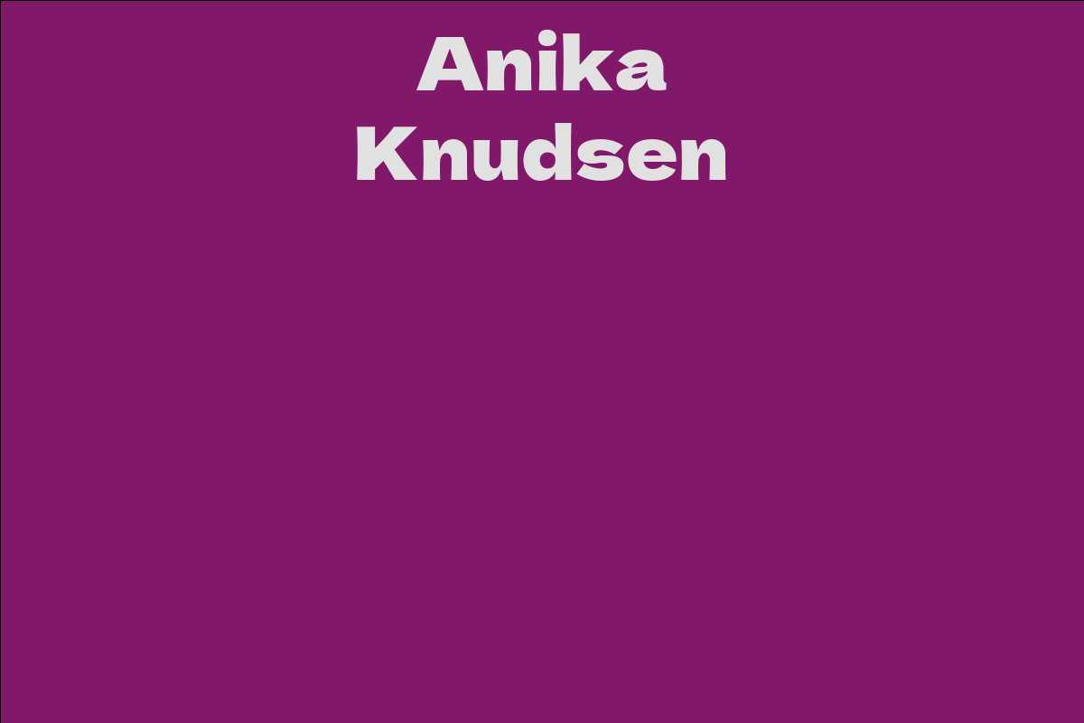 Anika Knudsen