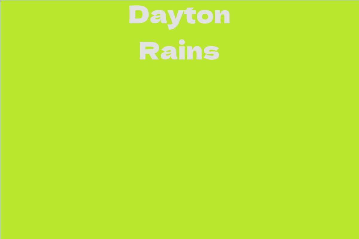 Dayton Rains