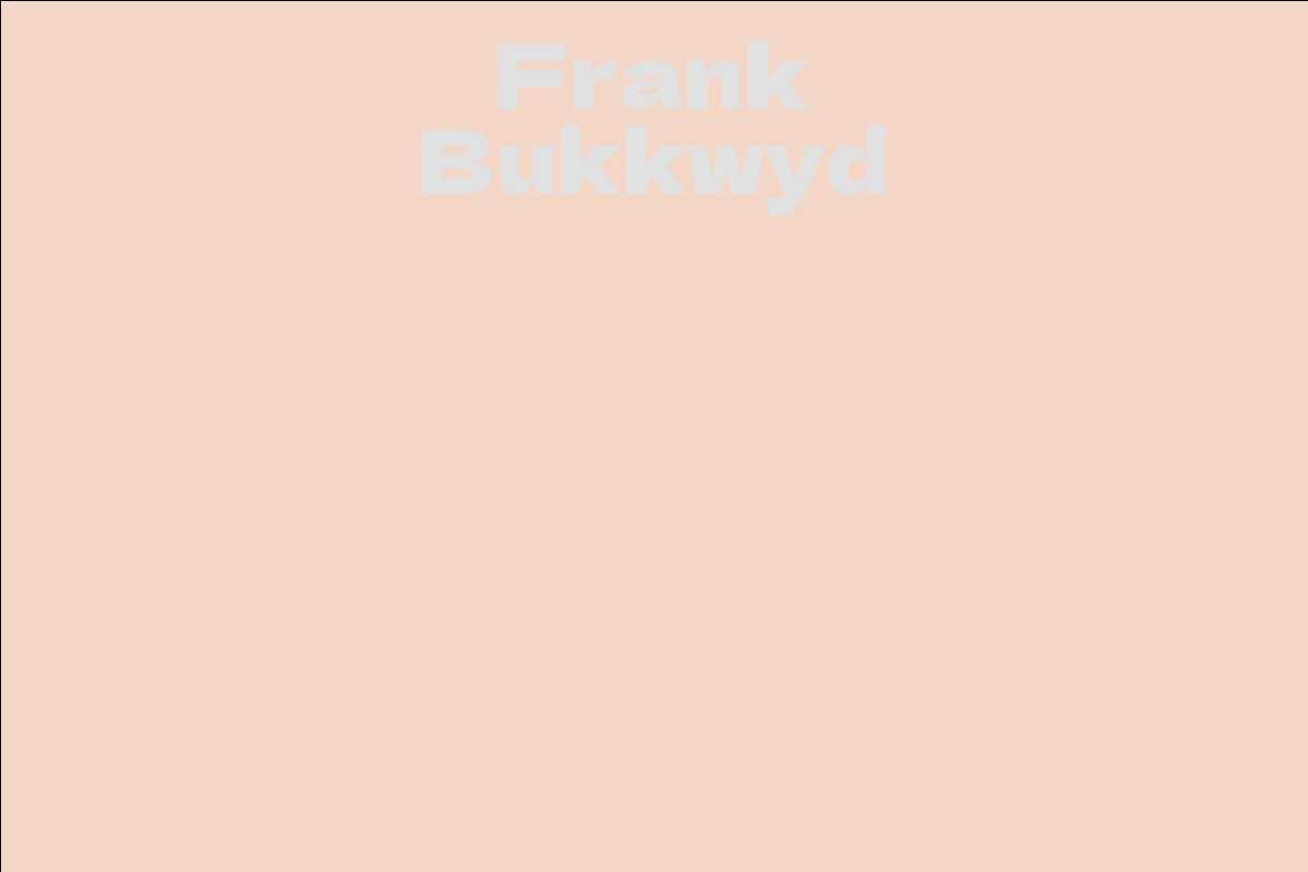 Frank Bukkwyd