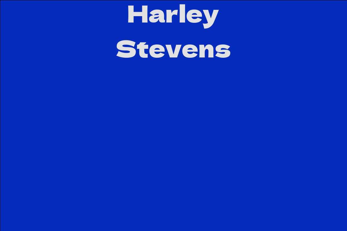 Harley Stevens