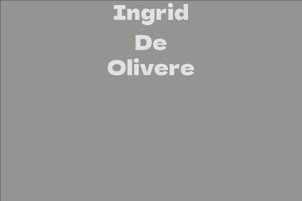 Ingrid De Olivere