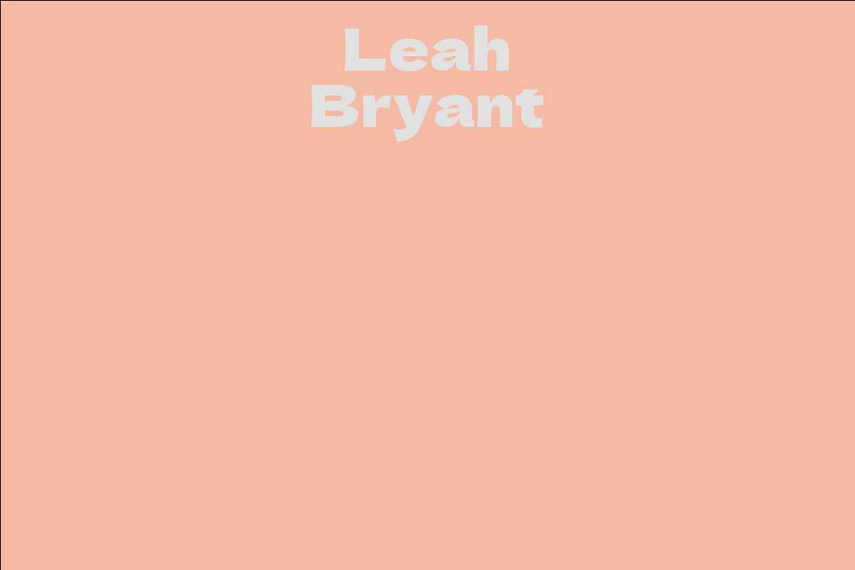 Leah Bryant