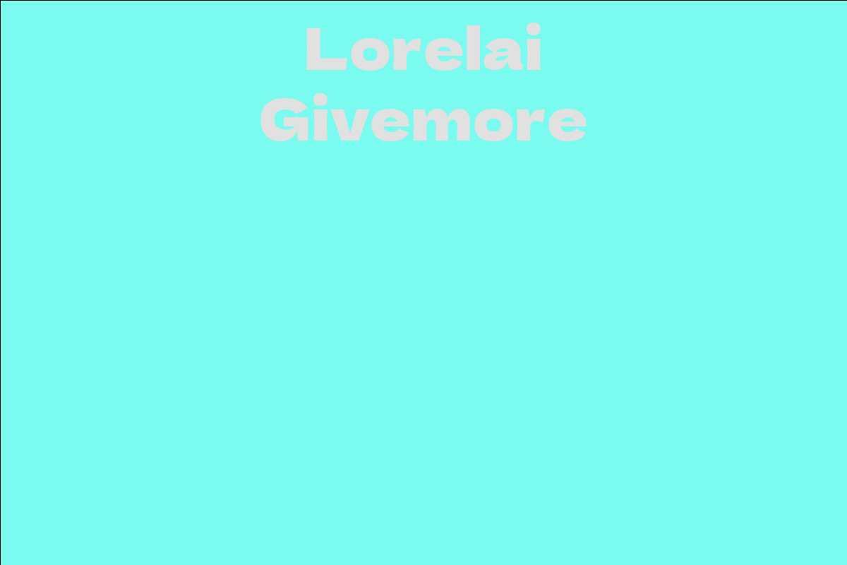 Lorelai Givemore