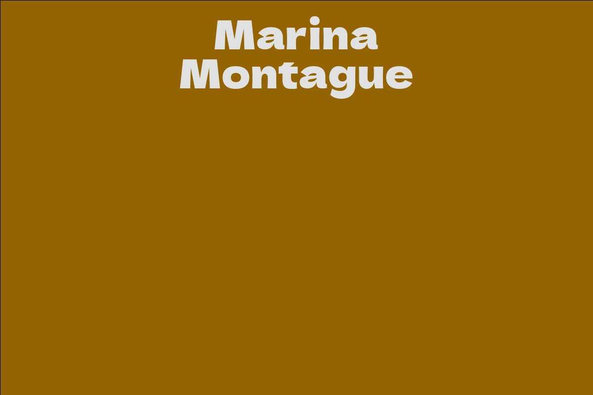 Marina Montague