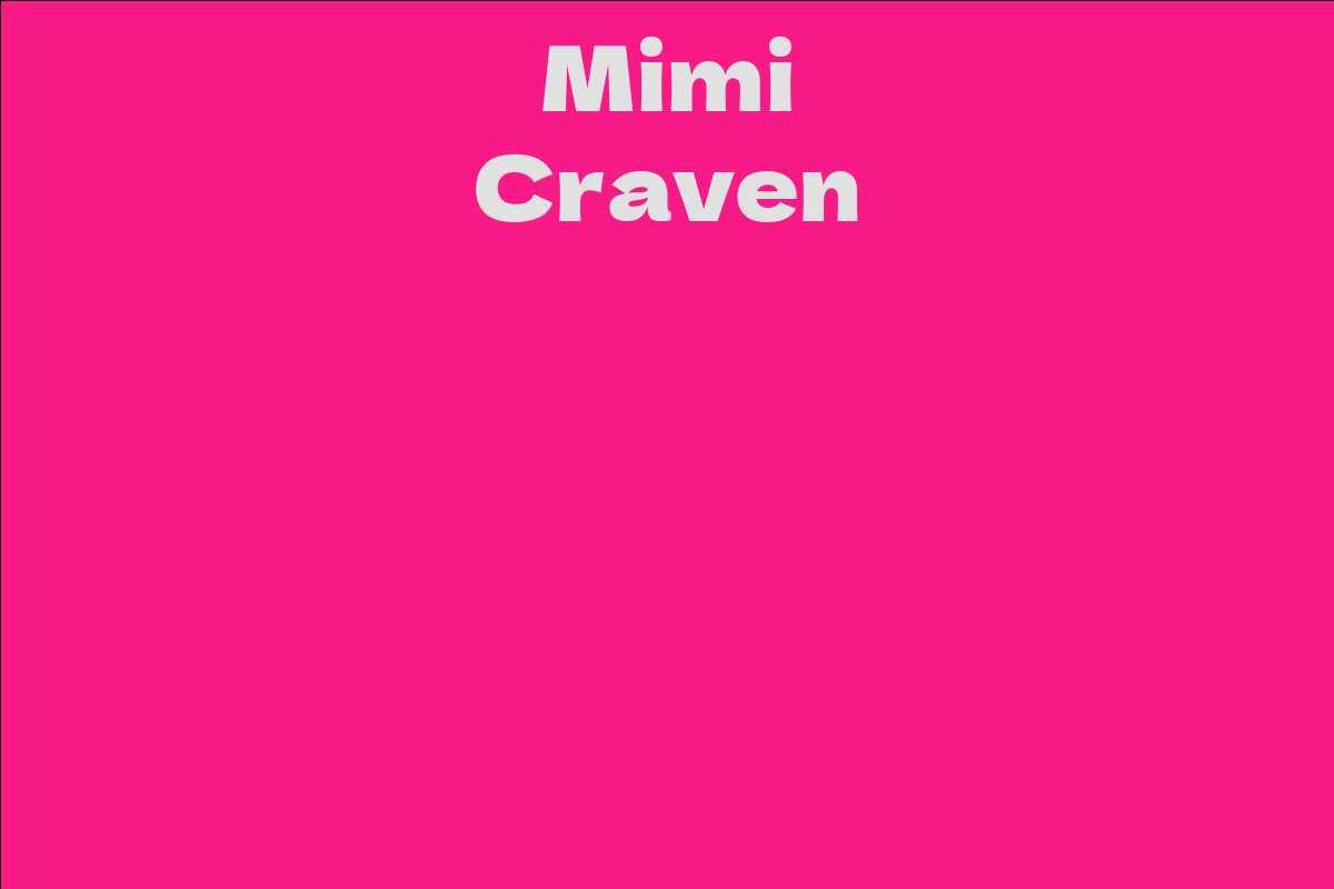 Mimi Craven