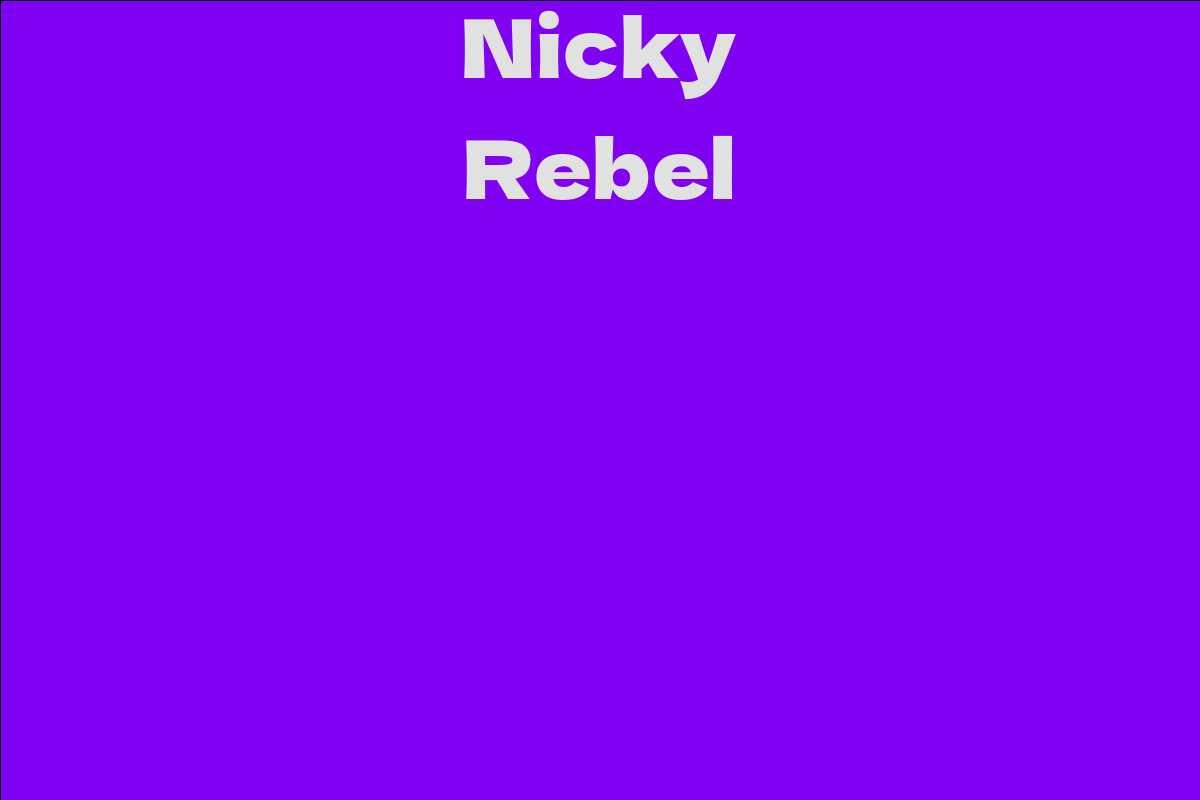 Nicky Rebel