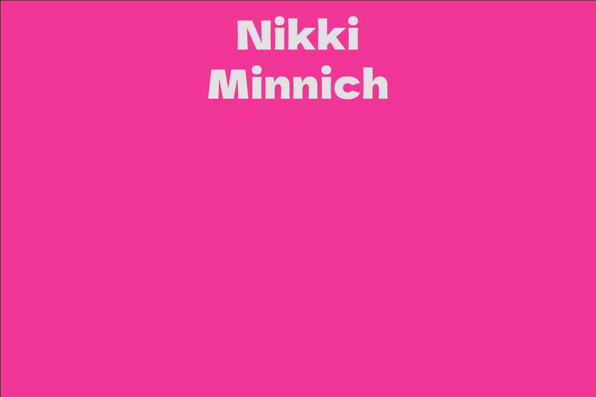 Nikki Minnich
