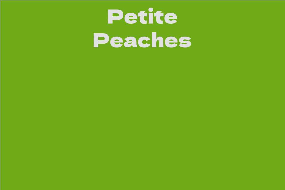 Petite Peaches
