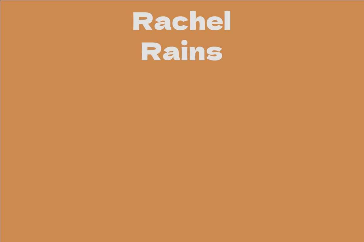 Rachel Rains