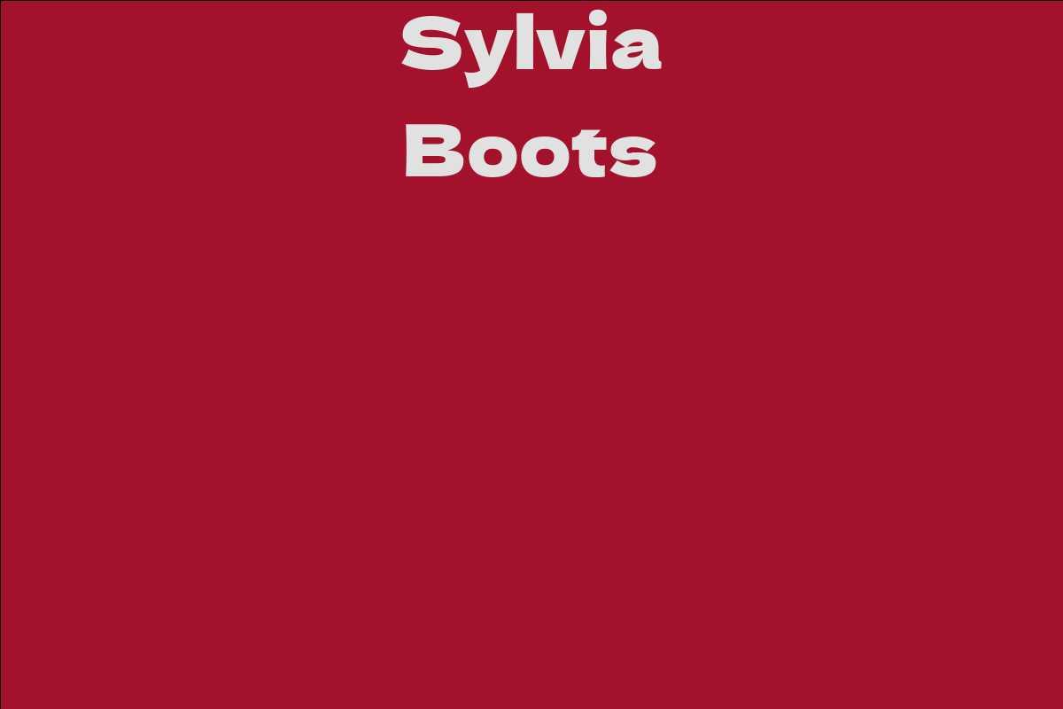 Sylvia Boots