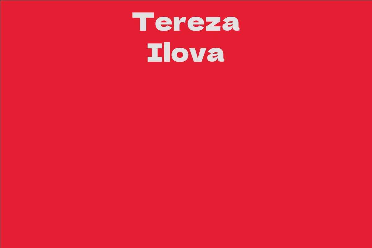 Tereza Ilova