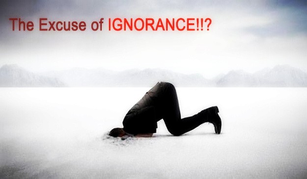 The ignorant do not realize their own ignorance