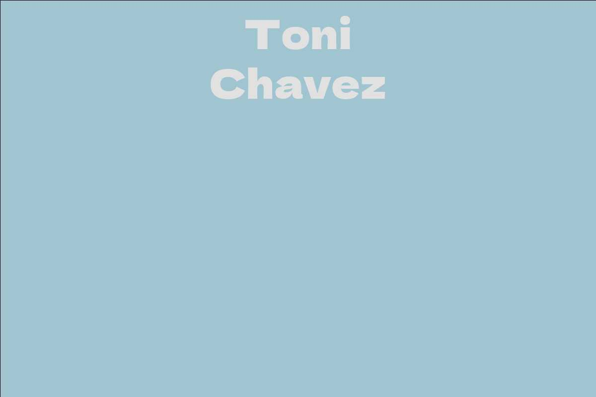 Toni Chavez
