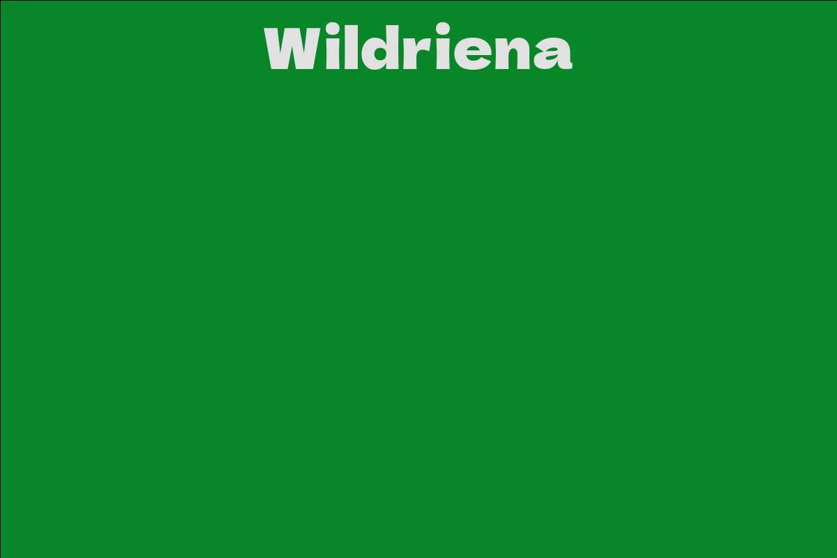 Wildriena