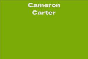 Cameron Carter