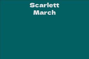 Scarlett March